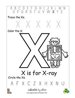 letter x alphabet worksheets. Black Bedroom Furniture Sets. Home Design Ideas