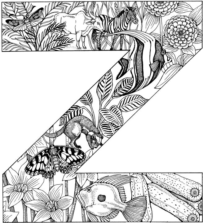 letter s animal coloring pages - photo#39