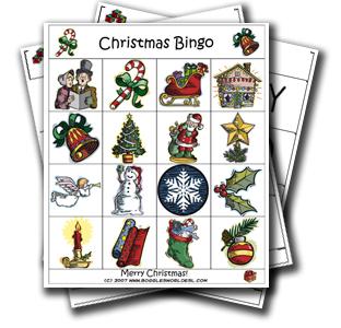 christmas bingo for teaching esl - Christmas Bingo