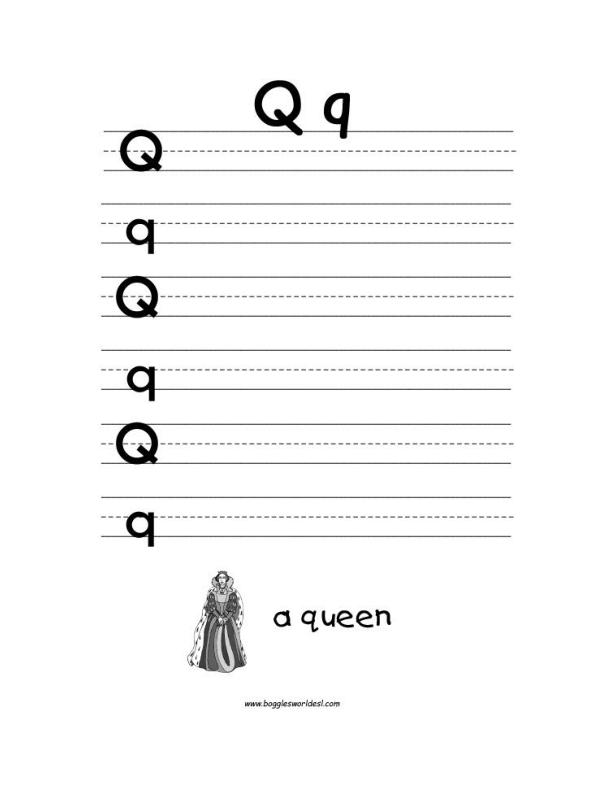 Letter Q Alphabet Worksheets on tracing printables, tracing snowflakes, tracing heart, tracing stars, tracing coloring pages, tracing shapes, tracing fall, tracing animals, tracing art, tracing bunnies, tracing letter r, tracing worksheets, tracing fish,