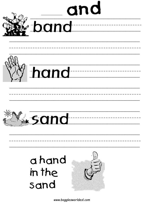 Phonics Sheets – Phonics Worksheets for Adults