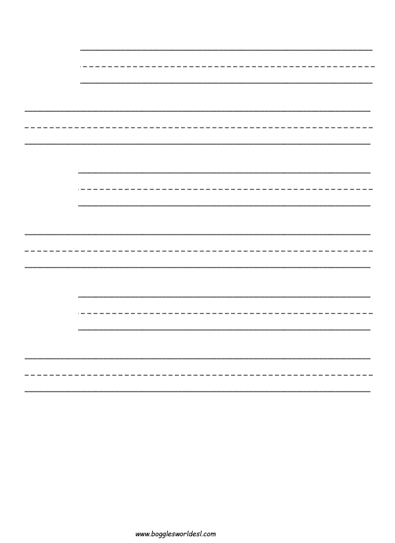 Phonics sheets for Elkonin boxes template