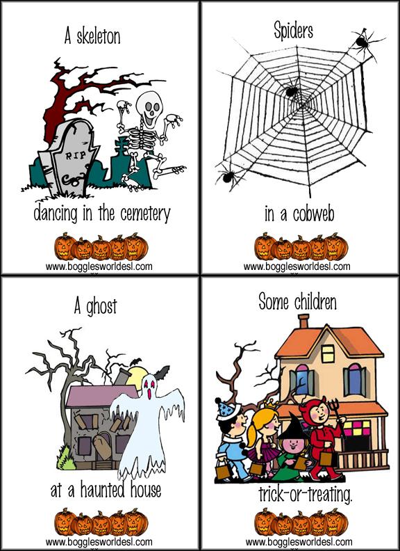 halloween flashcards1 - Bogglesworld Halloween