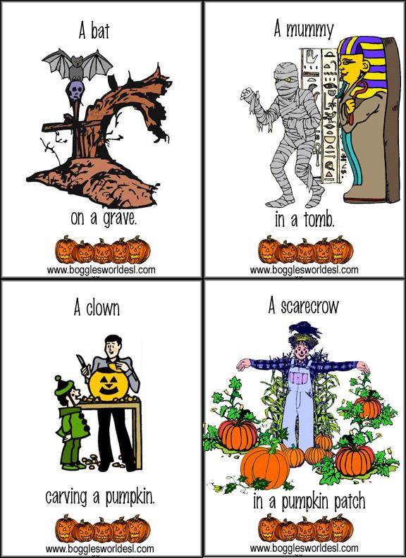 halloween flashcards3 - Bogglesworld Halloween