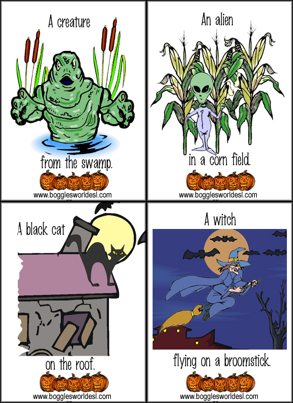 halloween flashcards5 - Bogglesworld Halloween
