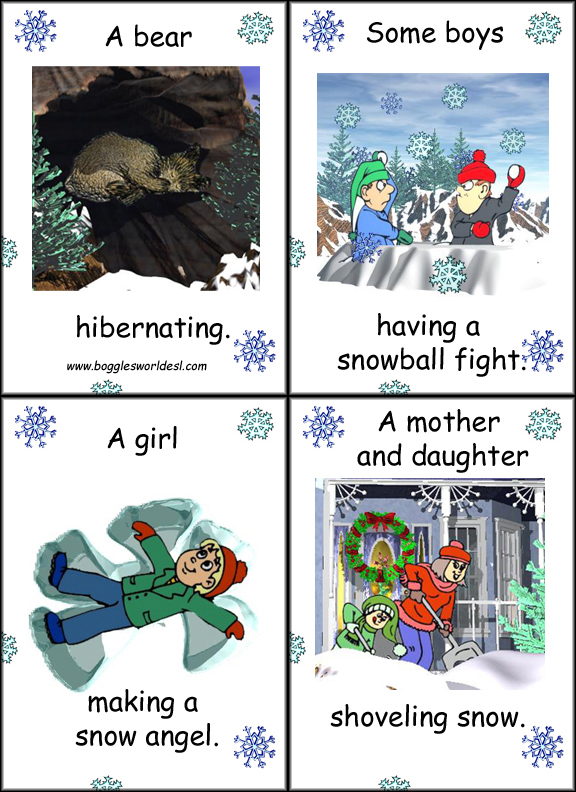christmas vocabulary esl adults