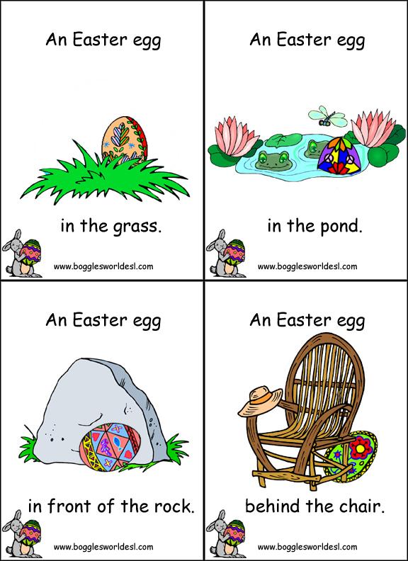 Easter Egg Hunt Cards And Bingo
