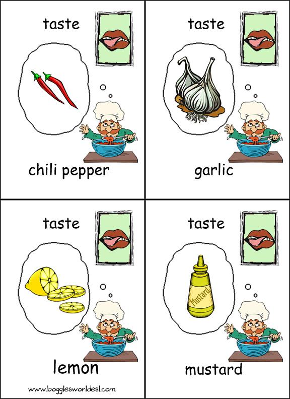 Five senses worksheets pdf