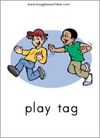 Want Cards Sample: Do You Want to Play Tag?