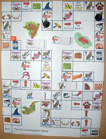 Animal Kingdom Game Board