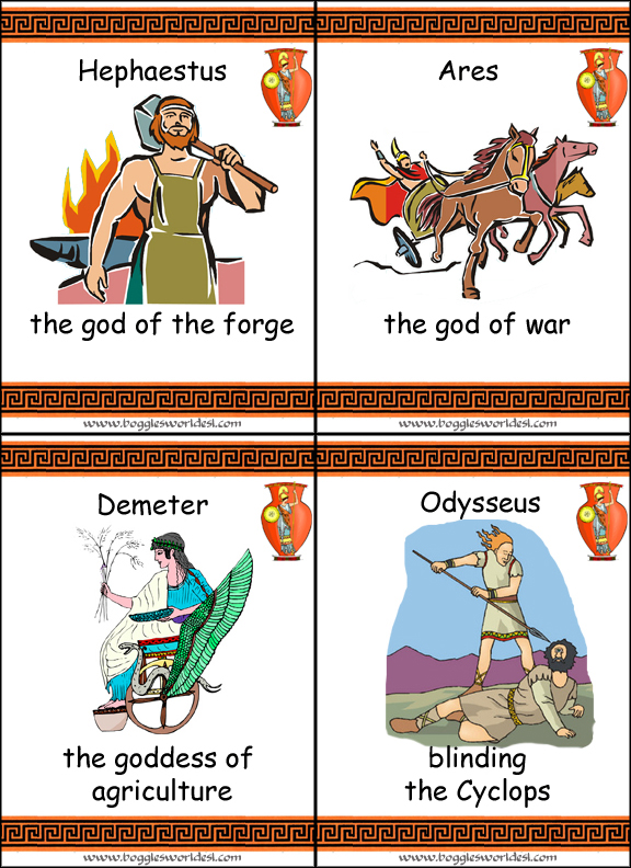 also check out the collection of greek mythology worksheets