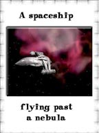 Spaceship cards for ESL/EFL learners!