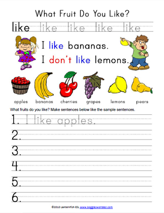 What Fruit Do You Like