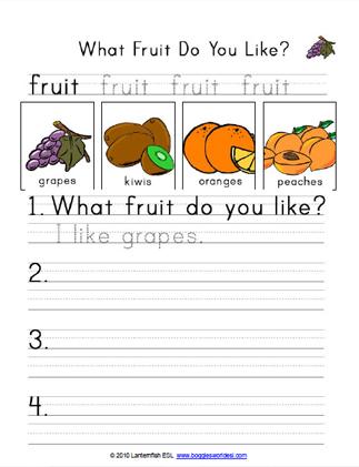 What Fruit Do You Like 2