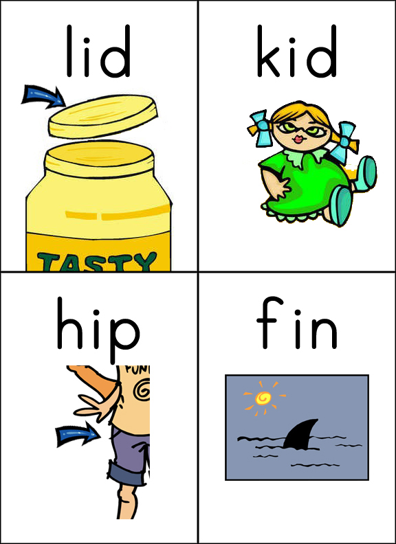 cvc words with pictures pdf