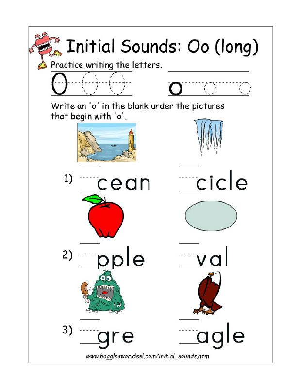 32+ Letter O Worksheets For Kindergarten Pdf Pics