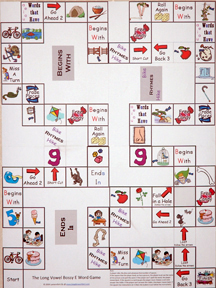 Long Vowel Game Board
