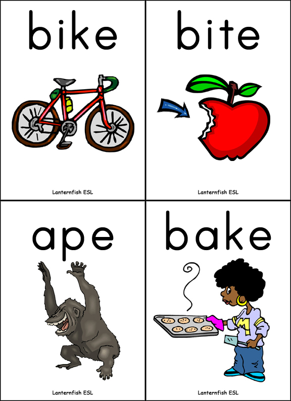 Long Vowel flashcards