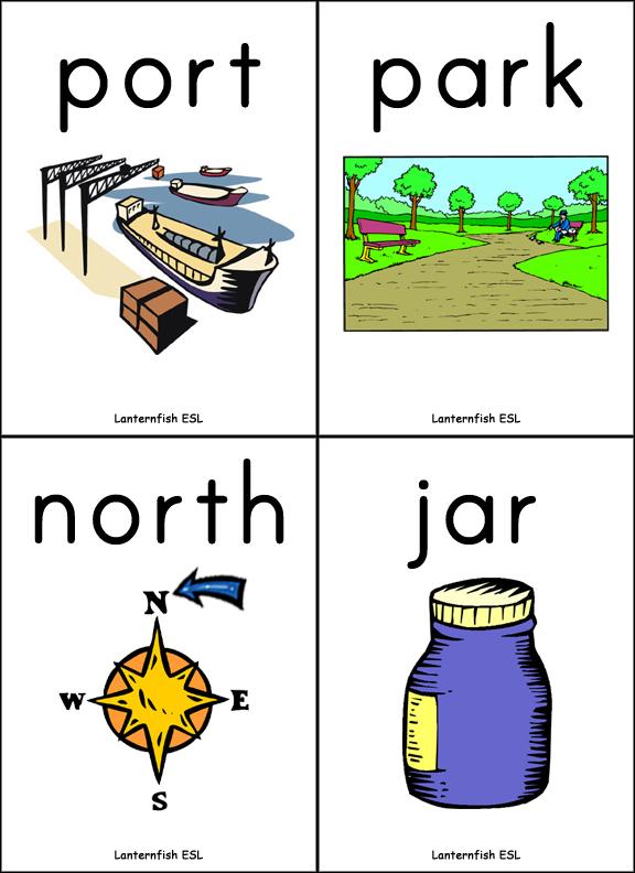 R-Controlled Vowel Flashcards