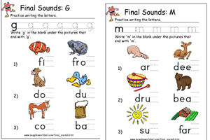 Phonics Worksheets and Teaching Resource Collections