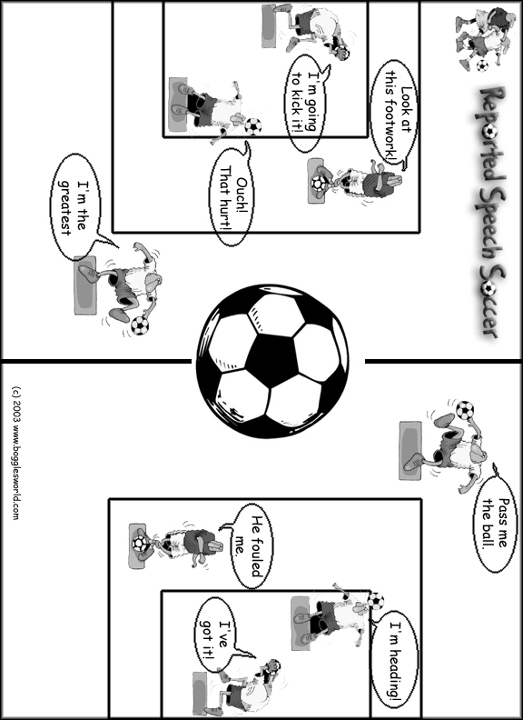Speech on soccer