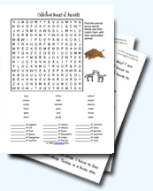 Animal Groups Collective Nouns Worksheets