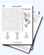 Emotions and Feelings Worksheets