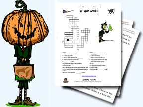 Halloween Worksheets and Activities