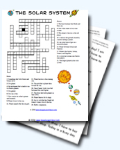 Solar System Worksheets And Teaching Resources