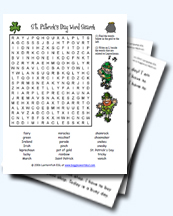 image about Free Printable St Patrick Day Worksheets named St. Patricks Working day Worksheets