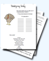Thanksgiving Worksheets And Teaching Resources